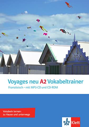 Voyages neu A2 Vokabeltrainer: Vokabelheft + CD/MP3 + CD-ROM (PC/Mac)