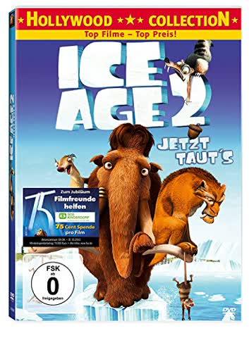 Ice Age 2 (DVD) Jetzt tauts -single- Min: 86DD5.1WS [Import germany]