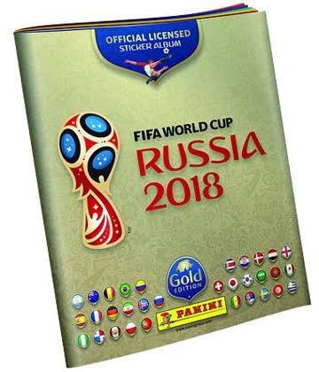 FIFA World Cup 2018 Russia - Päckchen (5 Stück) - FIFA World Cup 2018 Russia