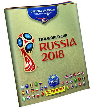 FIFA World Cup 2018 Russia - Sticker Album - FIFA World Cup 2018 Russia