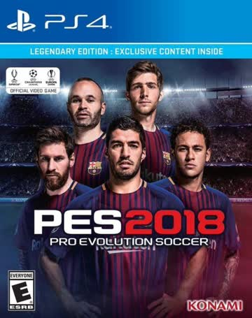 Pro Evolution Soccer 2018 - Legendary Edition (Steelbox)