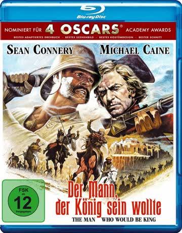 Der Mann, der König sein wollte (The man who would be king) [Blu-ray]