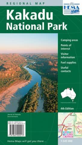 Kakadu National Park 1:345 000
