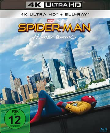 Spider-Man: Homecoming 4K