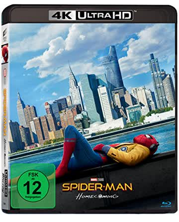 Spider-Man Homecoming [4K Ultra HD] [Blu-ray]