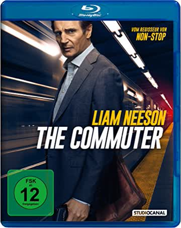 THE COMMUTER - MOVIE [Blu-ray]