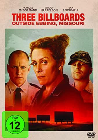 THREE BILLBOARDS OUTSIDE - MOV [DVD] [2017]