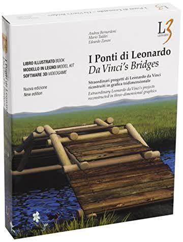 I ponti di Leonardo. Straordinari progetti di Leonardo da Vinci ricostruiti in grafica tridimensionale. Con DVD. Con gadget. Ediz. italiana e inglese