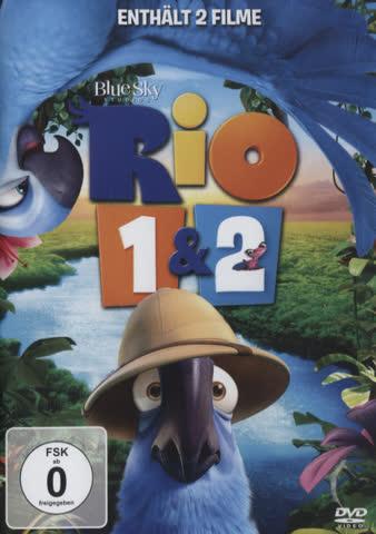 Rio / Rio 2 - (2 DVDs)