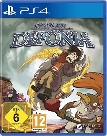 Chaos auf Deponia (PS4 Deutsch)