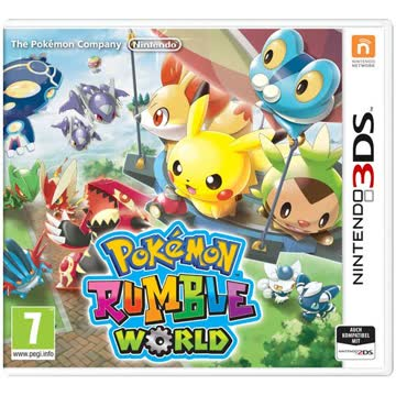 Pokemon Rumble World 3DS PEGI