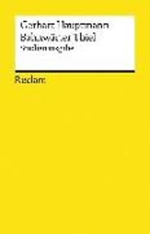 Bahnwärter Thiel: Novellistische Studie aus dem märkischen Kiefernforst (Reclams Universal-Bibliothek, Band 19363)