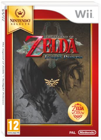 Nintendo Selects : The Legend of Zelda: Twilight Princess (Nintendo Wii) by Nintendo