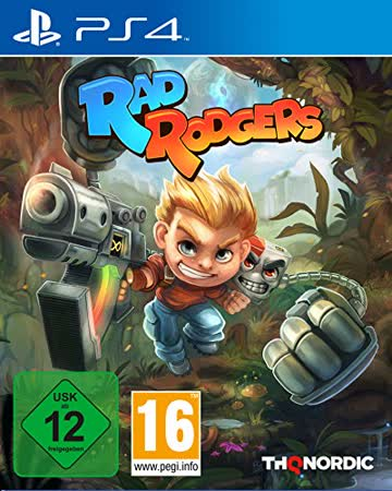 Rad Rodgers, 1 PS4-Blu-ray Disc