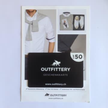 Outfitter 50 Franken Geschenkgutschein