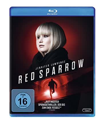 RED SPARROW - MOVIE [Blu-ray]