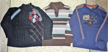 3 Winterpullis für Jungen - Gr. 116