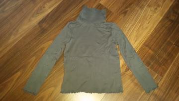 Rollkragen Sweatshirt, GR 128