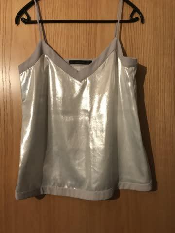 Shirt Metallisch