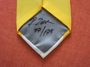 Künstler Krawatte von Rolf Ziegler