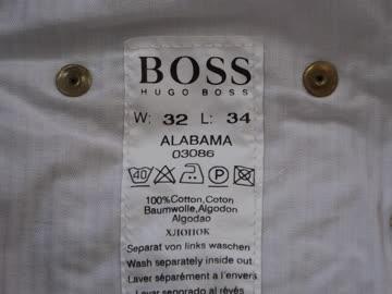 Hugo Boss Baumwollhose Select Line 32 / 34