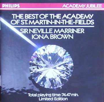 Marriner/Brown - The Best of the Academy of St.Martin-in-the Fields / Sir Neville Marriner / Iona Brown [UK-Import]