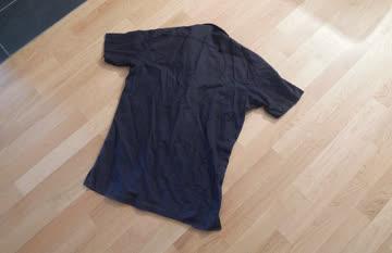 Herren / schwarzes Hemd / Kurzarm / Grösse M