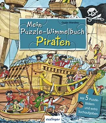 Mein -Wimmelbuch - Piraten (Mein Puzzle-Wimmelbuch)