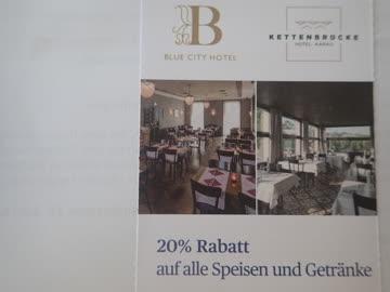 Hotel/Restaurant Kettenbrücke, Aarau, 20% Rabatt
