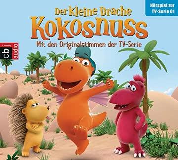 Der Kleine Drache Kokosnuss - Hörspiel zur TV-Serie 01: Ein Omelette für Chef. Auf ein Wort. Die Außenseiter. Flug an der Leine (Audio-CDs zur TV-Serie, Band 1)