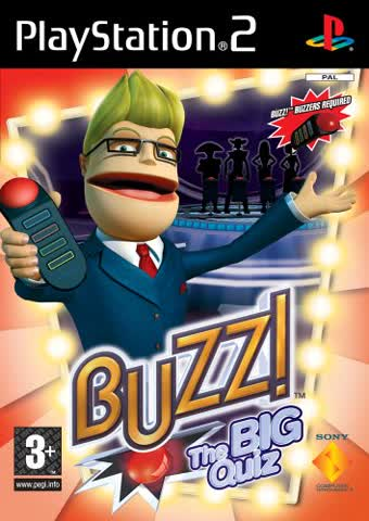 Buzz! The Big Quiz - Solus (PS2)