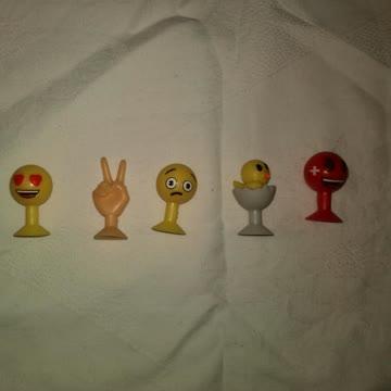 Emoji-Saugnäpflinge 5x