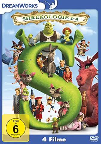 Shrekologie 1-4, 4 DVD