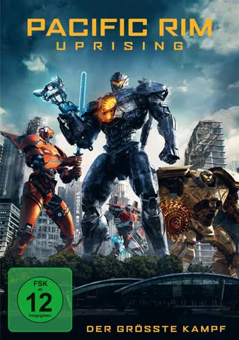 PACIFIC RIM: UPRISING - MOVIE [DVD] [2018]