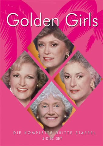 Golden Girls - Die komplette dritte Staffel [4 DVDs]