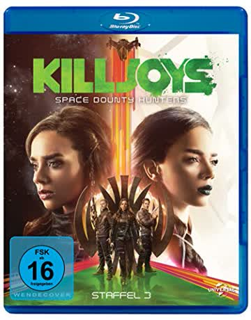 Killjoys - Space Bounty Hunters - Staffel 3 [Blu-ray]