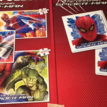 3 Puzzle Spiderman+ Memory