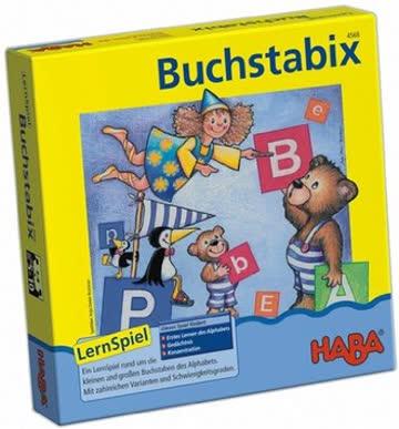 HABA 4568 - Buchstabix, Lernspiel