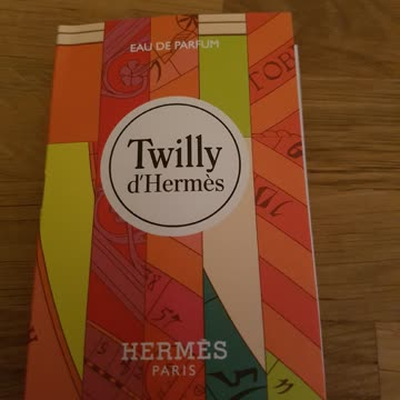 Twilly d'Hermès 2ml Muster