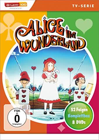 Alice im Wunderland Komplettbox (TV-Serie)