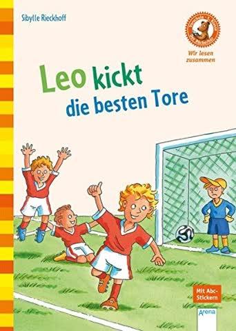 Der Bücherbär, wir lesen zusammen (1. Klasse) - Leo kickt die besten Tore