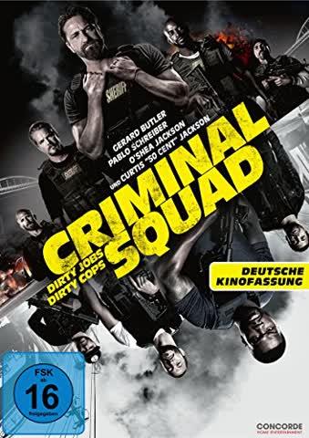 Criminal Squad (deutsche Kinofassung). Single-Version