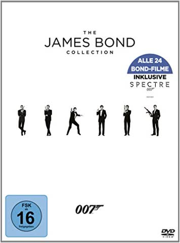 The James Bond Collection [24 DVDs]
