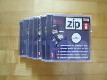 sechs Zip100 Disketten