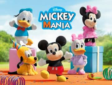 Sammelkarte komplett - Mickeymania
