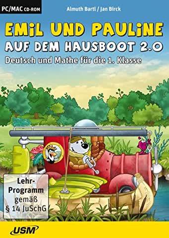 Emil und Pauline in der 1. Klasse - Neue Abenteuer auf dem Hausboot 2.0