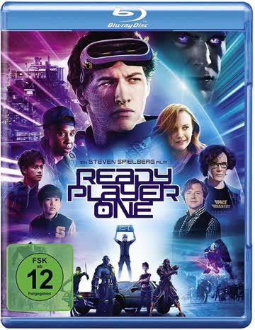 READY PLAYER ONE - MOVIE [Blu-ray] [2018]