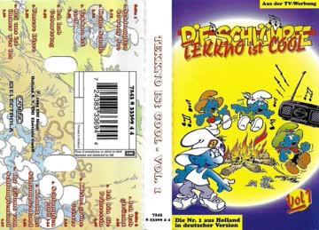 Die Schlümpfe - Tekkno Ist Cool Vol. 1 [Musikkassette]