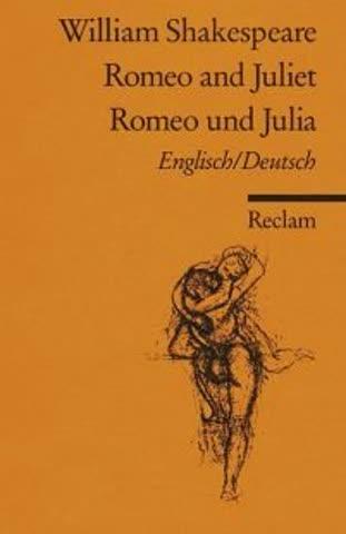 Romeo und Julia. Von Shakespeare,