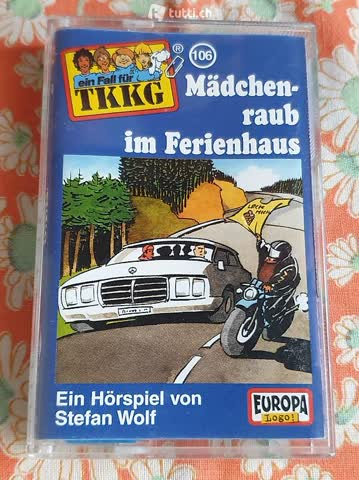 TKKG Fall 106: Mädchenraub im Ferienhaus [Musikkassette]
